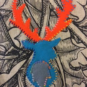 Rachel Hook- Stag Textile