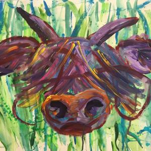 Anna Thomson- Highland Cow