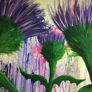Group Piece- Thistles